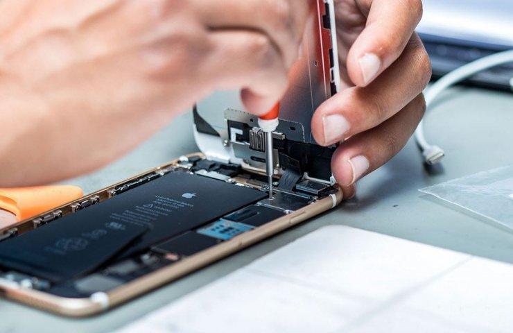 Замена микросхемы в смартфоне